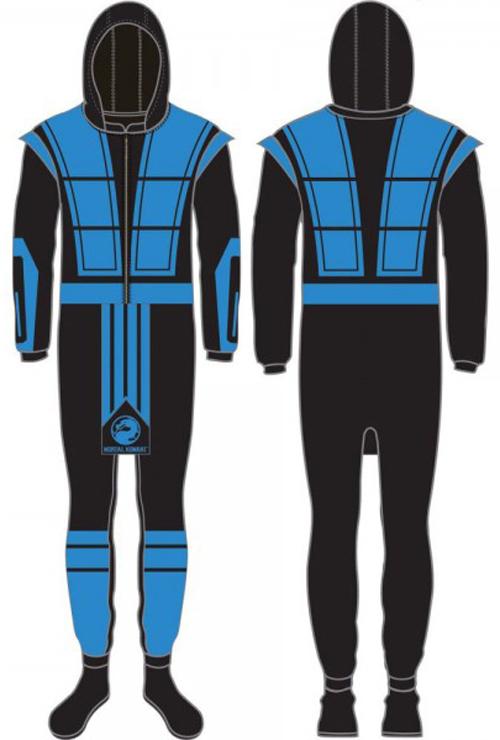 Mortal Kombat: Sub-Zero (L) Union Suit